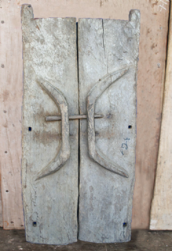 19th Century Tribal Naga Doors <b>SOLD<b>